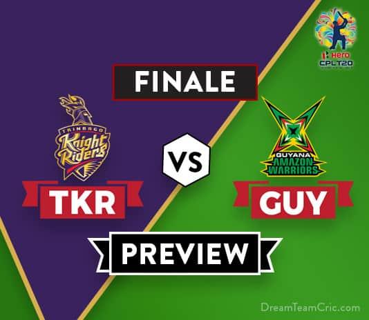 TKR VS GUY Dream11 Team Prediction of CPL: Preview