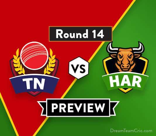 TN vs HAR Dream11 Team Prediction, Preview : Vijay Hazare Trophy 2018-19
