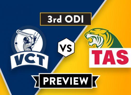 VCT vs TAS Dream11 Team Prediction of Aussie ODD Cup: Preview